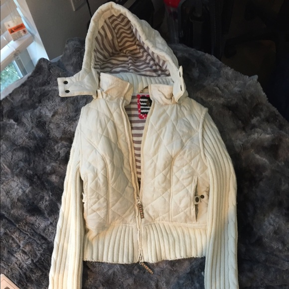 Free People Jackets & Blazers - White winter cozy